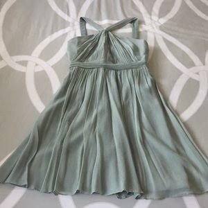 J. crew silk dress, like new